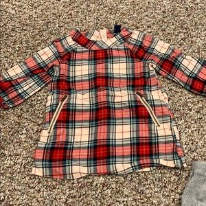 Baby GAP flannel dress with pockets
